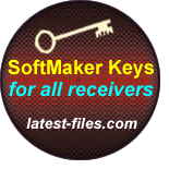 Softmaker Keys for all receivers